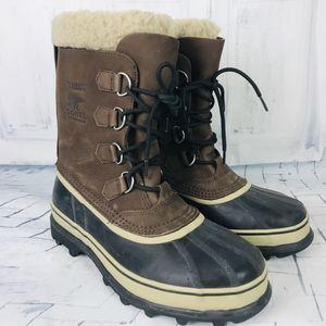 Sorel Caribou Winter Snow Duck Boots Men's 9 ~NWOB